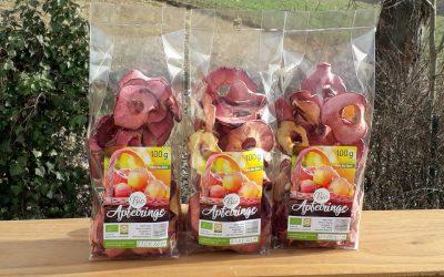 Bio-Apfelringe