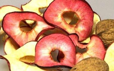 frische Apfelringe